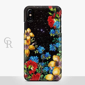 Floral Phone Case Case For iPhone 8 iPhone 8 Plus - iPhone X - iPhone 7 Plus - iPhone 6 - iPhone 6S - iPhone SE - Samsung S8 iPhone 5