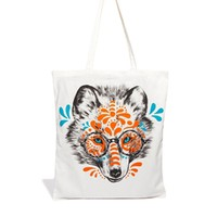 Monki Almira Wolf Face Bag at asos.com