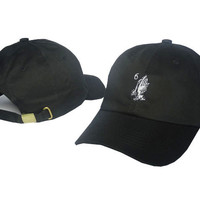 Drake 6 God Praying Hands Black Dad Hat