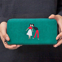 Couple Leather Wallet [4918663876]