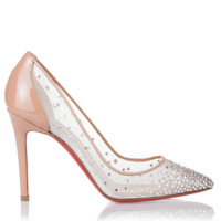 Body Strass crystal pump Christian Louboutin - Designer Shoes at ShopSavannahs.com