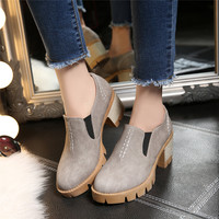 Women's Pumps High Heels Casual Platform Shoes