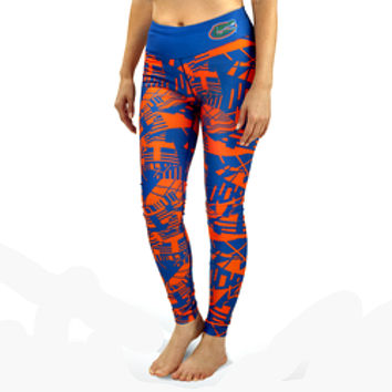 Florida Gators Geometric Print Leggings
