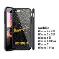 Best Nike.Waterdrop Logo iPhone 7 7+ and X Hard Plastic Case Cover