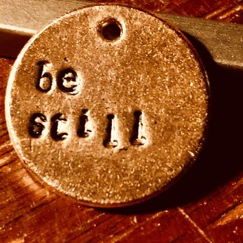 A Teeny Tiny Reminder: Be Still