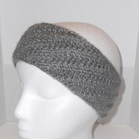 Olina Headband in Grey Heather