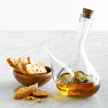 Porron Glass Oil Cruet