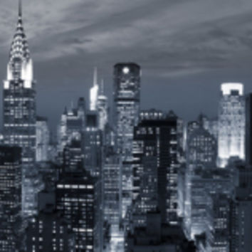 Midtown Skyline with Chrysler Building and Empire State Building, Manhattan, New York City, USA Photographic Print by Jon Arnold at Art.com