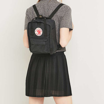 Fjallraven Kanken Classic Mini Black Backpack - Urban Outfitters