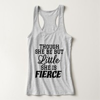 Little & Fierce Tank Top