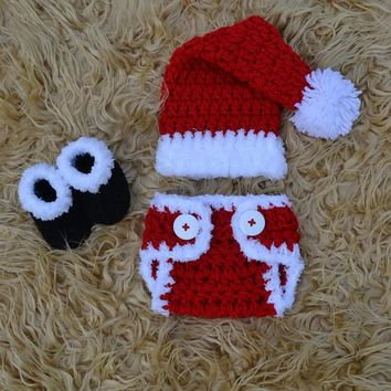 Baby Christmas Outfit Crochet Christmas Baby Clothes
