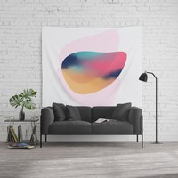 Modern minimal forms 37 Wall Tapestry by naturalcolors