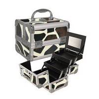 Giraffe Makeup Case with Mirror