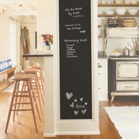 NuWallpaper Black Vintage Chalkboard Peel and Stick Wallpaper Sample-NU2220SAM - The Home Depot