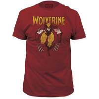 Marvel Comics Wolverine Red