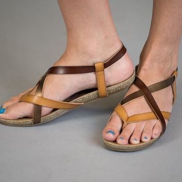 Blowfish Malibu Sandals in Bronze (6.5-11)