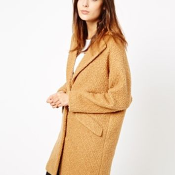 ASOS Textured Longline Coat