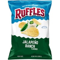 Ruffles Jalapeno Ranch Flavored Potato Chips 8.5 oz. Bag - Walmart.com