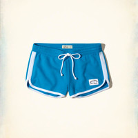 Girls Curved Hem Terry Shorts | Girls Bottoms | HollisterCo.com