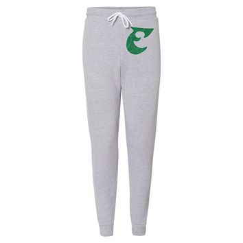 Retro Old School E Football Unisex Jogger Fleece Sweatpants