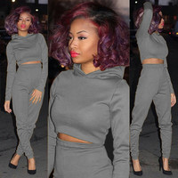 FASHION HOODED CASUAL TWO-PIECE SUITS-1