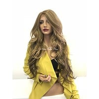 Blond lace front wig - Sweet Heart