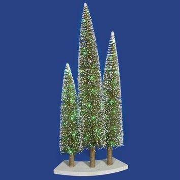 Christmas Tree Trio - 72 Green Mini Led Lights