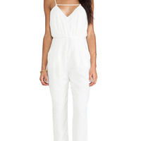 Finders Keepers The Someday Jumpsuit in White