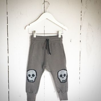 Skull Patch Baggy Pants