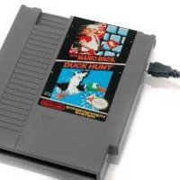 NES Hard Drive Super Mario BrosDuck Hunt 500GB by 8BitMemory