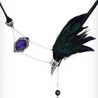 Raven's Sorrow Necklace