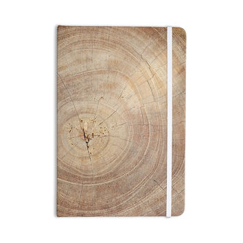 "Susan Sanders ""Aging Tree"" Wooden Everything Notebook"