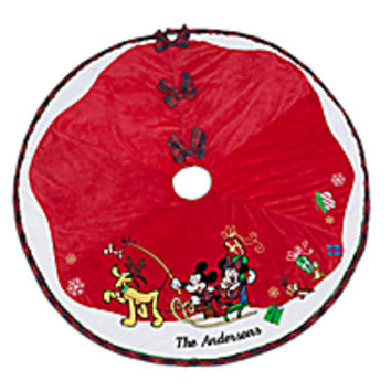 Mickey Mouse and Friends Tree Skirt - Personalizable | Disney Store