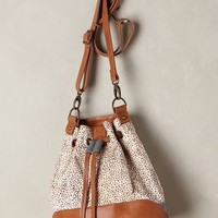 Calf Hair Bucket Bag by Miss Albright Neutral Motif One Size Jewelry