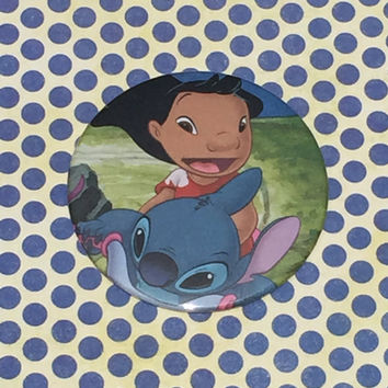 Lilo and Stitch Pocket Mirror