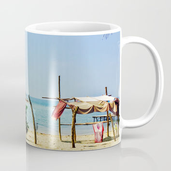 Beachfront Coffee Mug by Jenna C.