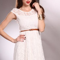 White Lace Overlay Scoop Neck Sleeveless Stylish Dress @ Amiclubwear sexy dresses,sexy dress,prom dress,summer dress,spring dress,prom gowns,teens dresses,sexy party wear,women's cocktail dresses,ball dresses,sun dresses,trendy dresses,sweater dresses,tee