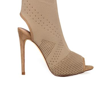 Peepin You Heel - Taupe
