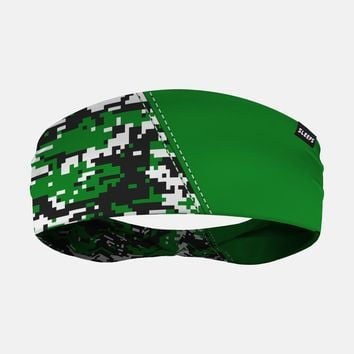 Arsenal Digi Camo Green Black White Headband