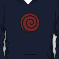 ?21000+ views?NARUTO: Clan Symbol of Whirlpool (Uzumaki) Hoodie (Pullo