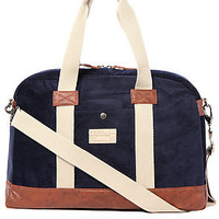 Hex The Laptop Duffle Bag in Navy Cord : Karmaloop.com - Global Concrete Culture