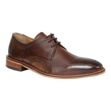 New Giorgio Brutini Men's Reddington Square Toe Brown Oxford Shoes