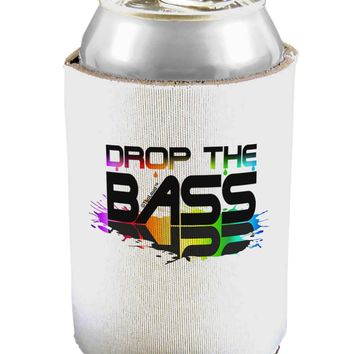 Paint Drop The Bass Can / Bottle Insulator Coolers
