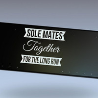 Sole Mates Bib Display, Running Bib Holder, Running Medal Holder, Racing Medal Holder, Bib Holder, Bib Hanger, Racing Bib Holder,