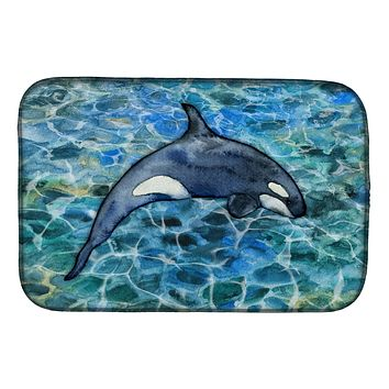 Killer Whale Orca #2 Dish Drying Mat BB5335DDM
