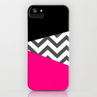 Color Blocked Chevron 8 iPhone & iPod Case by Josrick
