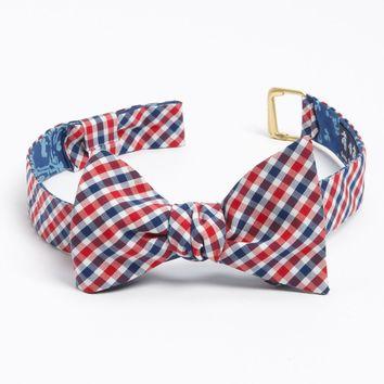 Brooks Brothers Reversible Cotton Bow Tie | Nordstrom