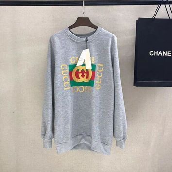 GUCCI Fashion Casual Long Sleeve Sweater Pullover Sweatshirt Tagre™