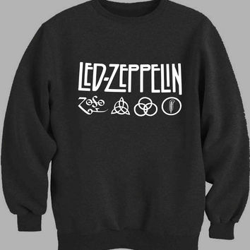 led zeppelin symbol Sweater for Mens Sweater and Womens Sweater *