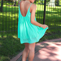 Honeydew Blossom Dress